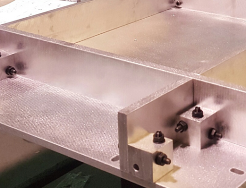 Heliostat molds in assembly
